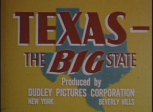 Texas: The Big State (1952)