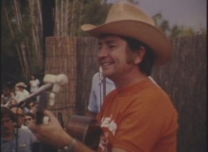 Willie Nelson at Austin Aqua Fest (1973)