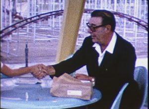 Lon Chaney Jr. at Western Playland (1964)