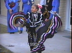 Mariachi and Folk Dance Party Performance (1990)