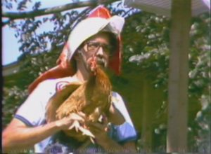 Chicken Flying Contest at Round Rock Frontier Days (1975)