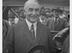 President-elect Warren G. Harding in Brownsville (1920)